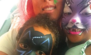 facepaint-family-batman-cat-flowers