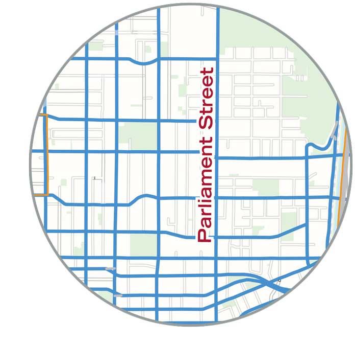 Parliament-Street-map